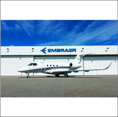 Embraer entrega primeiro jato Praetor 500 no Brasil
