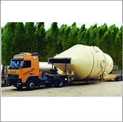 Tecniplas fornece silos de PRFV para a Cargill
